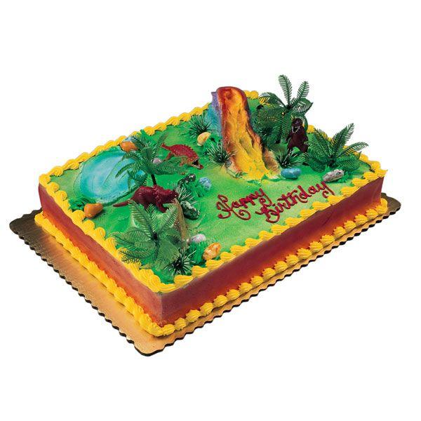 Dinosaur Birthday Cake Via Publix Cakes The Sweetest Pleasures