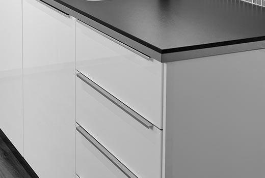 Ikea Kitchen Cabinet Handles Light Pendants For Blankett Handgreep Aluminium Door Knobs