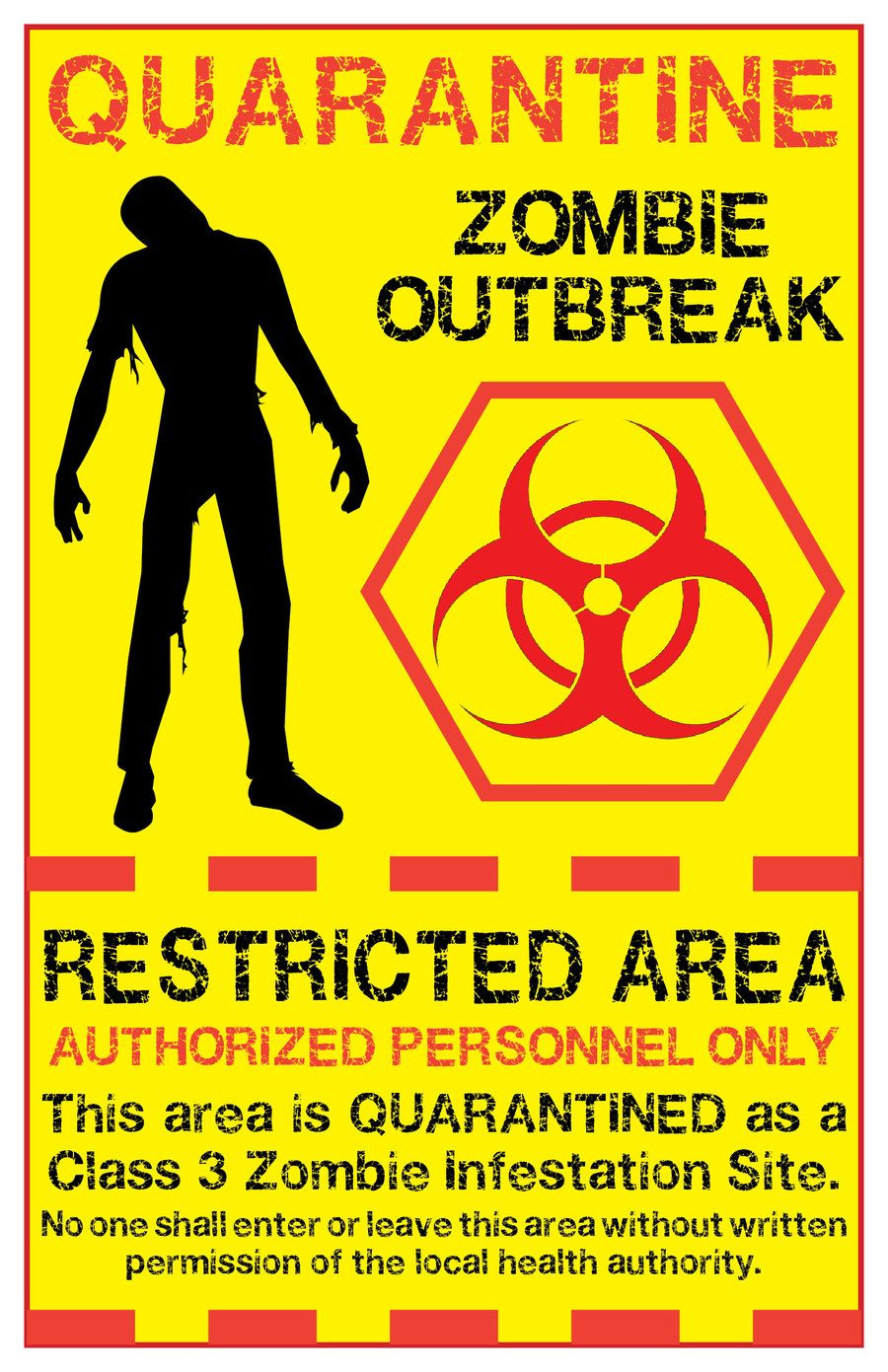 Zombie biohazard symbol zombie quarantine sign 2 by memnalar zombie biohazard symbol zombie quarantine sign 2 by memnalar designs interfaces signage 2011 biocorpaavc Image collections