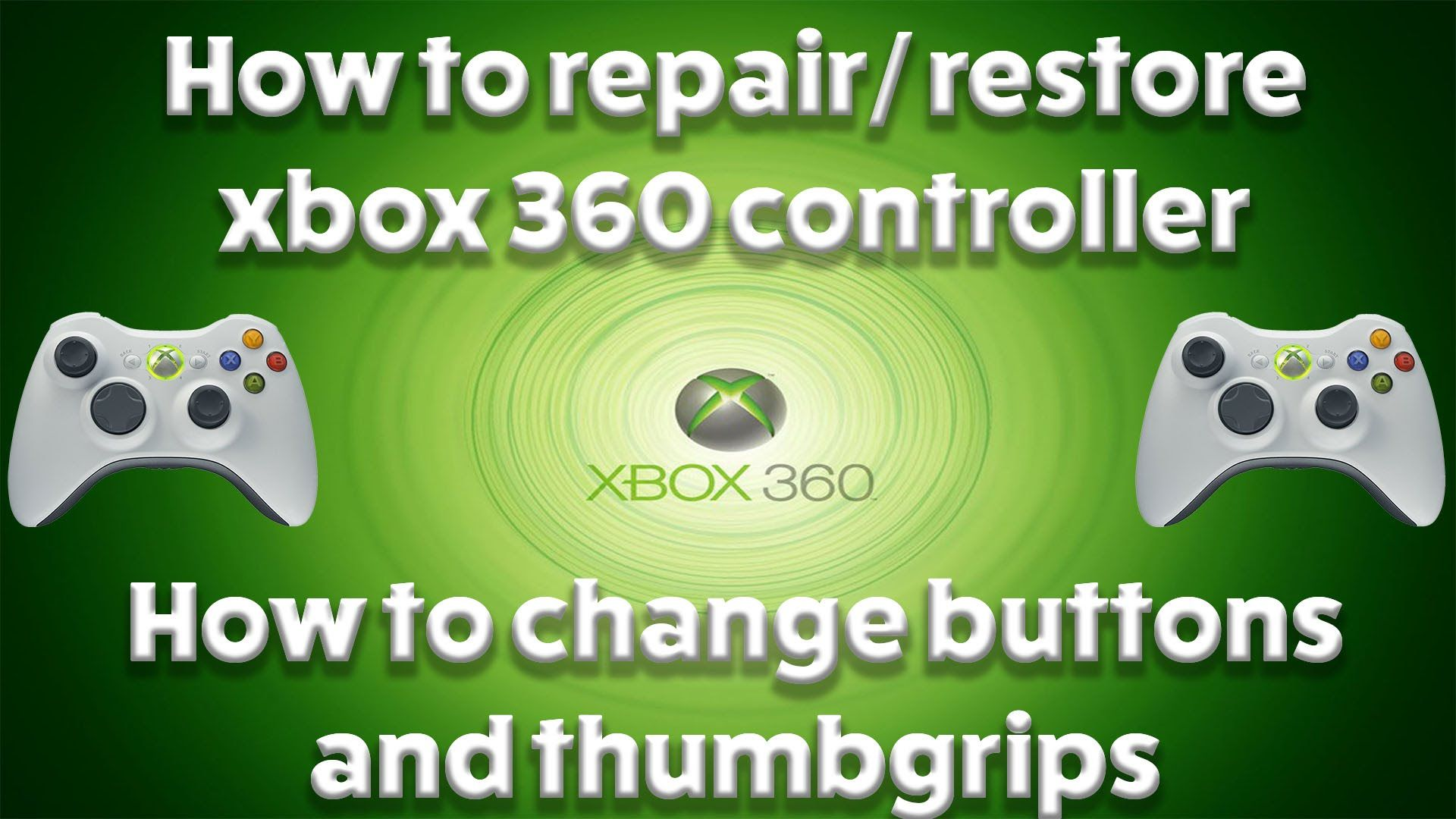 Pin By Zanygeek On Game Console Tutorial Videos Xbox 360 Controller Repair Xbox