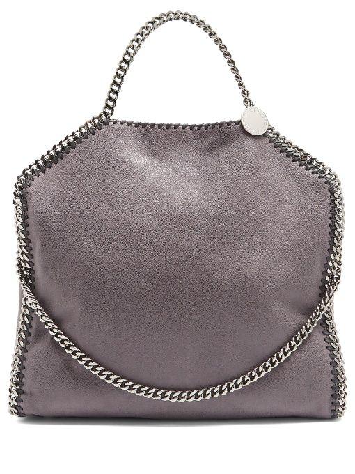 Stella McCartney Falabella faux-suede shoulder bag  bfcc38cd40379