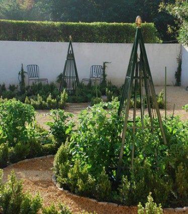Edible landscaping kitchen garden jardin potager - Gartenpflanzen straucher ...