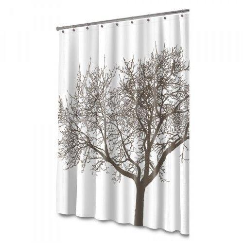 Splash Home Tree Mocha Eva Shower Curtain, New | Bath shower and Free