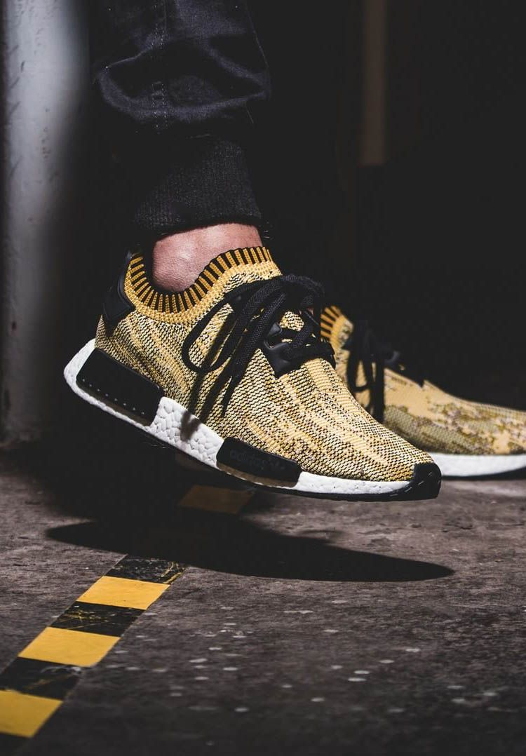 sale retailer d49e3 44066 ADIDAS NMD Runner PK Yellow Camo    Follow  filetlondon for more street  wear style  filetclothing