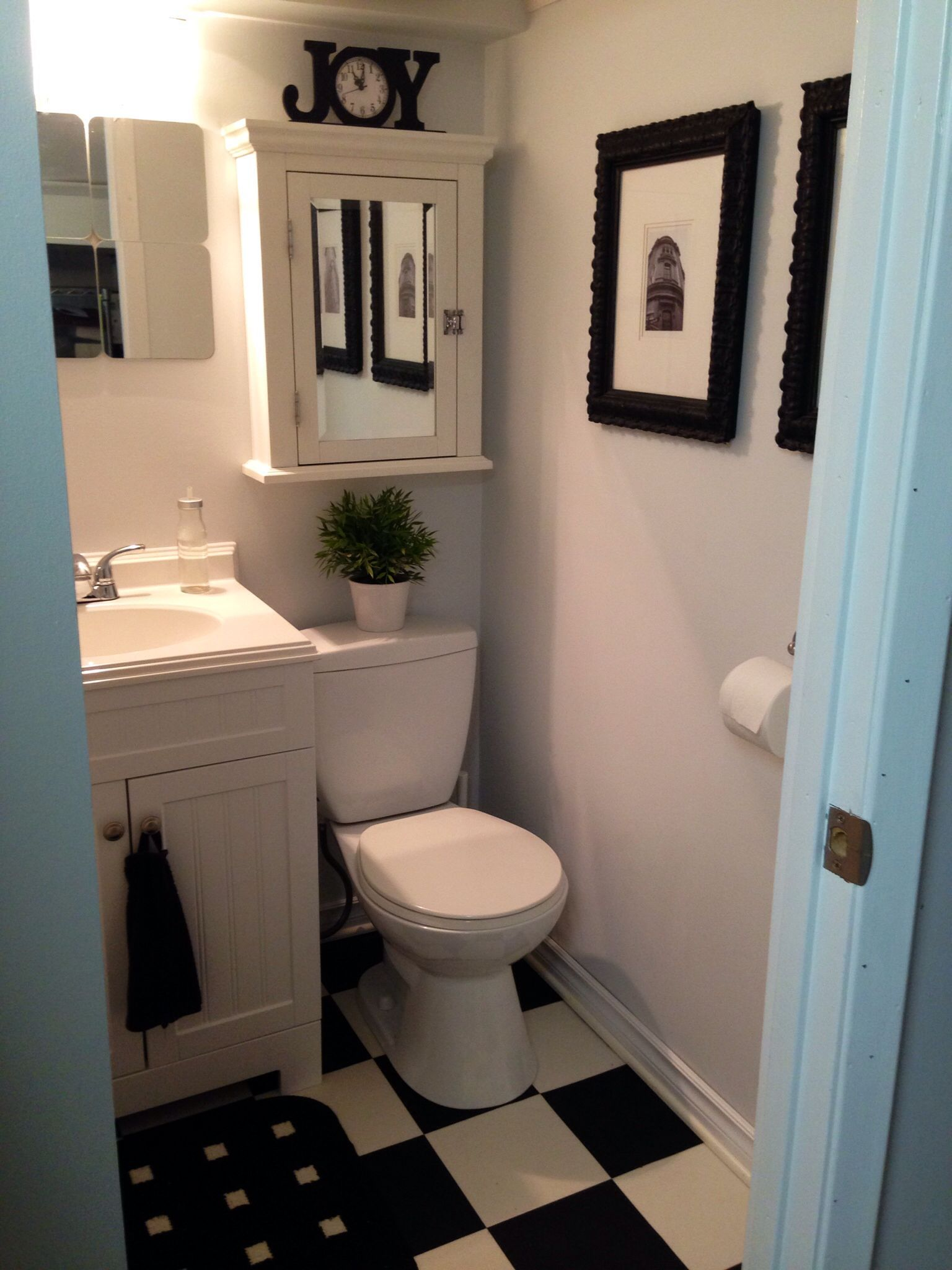 Small Bathroom Decor Ideas Home Pinterest Avec Images