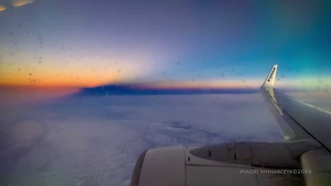 Sunrise on the west - optical illusion - time lapse.