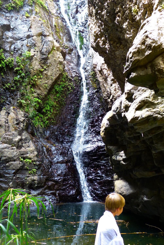 Casa D'Mar - B&B - Ponta do Sol - Santo Antao - Activités - Balades des Cascades - Se baigner dans les cascades