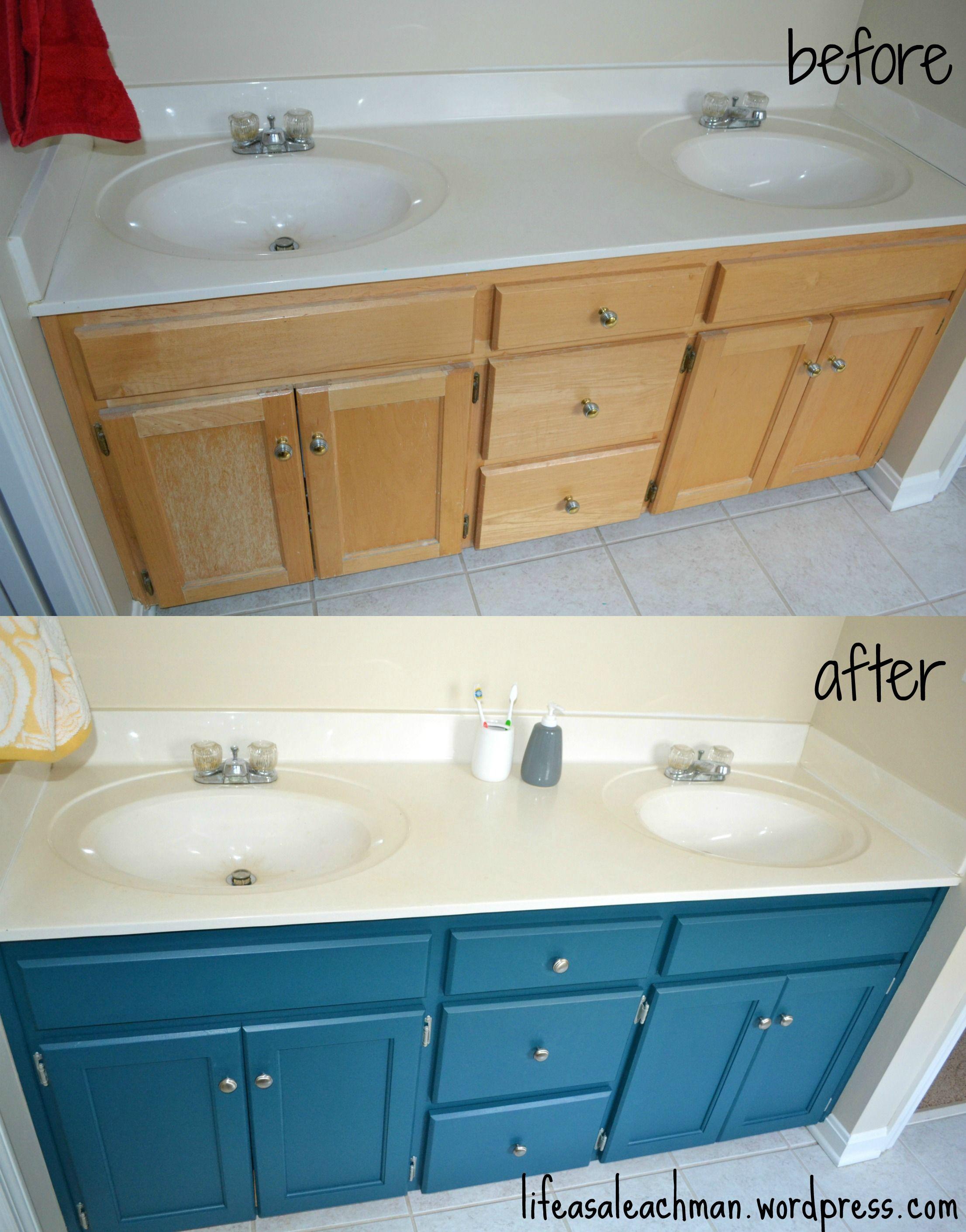 bathroom vanity makeover home inspiration bathroom vanity rh pinterest com bathroom vanity makeover pinterest bathroom vanity makeover paint
