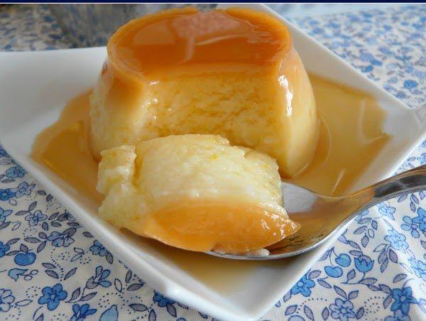 Recetas De Cocina Arroz Con Leches   Flan De Arroz Con Leche Dos En Uno Flanes Y Gelatinas