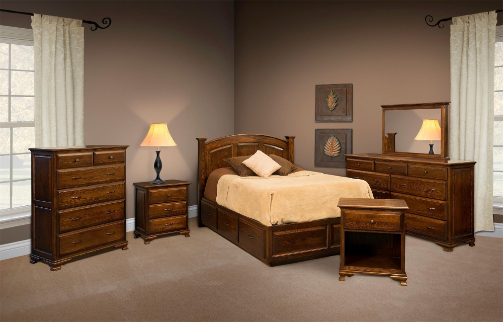 Amish Santa Clara Platform Bed With Images Contemporary Bedroom Furniture Sets Bedroom Furnishings Bedroom Furniture Sets