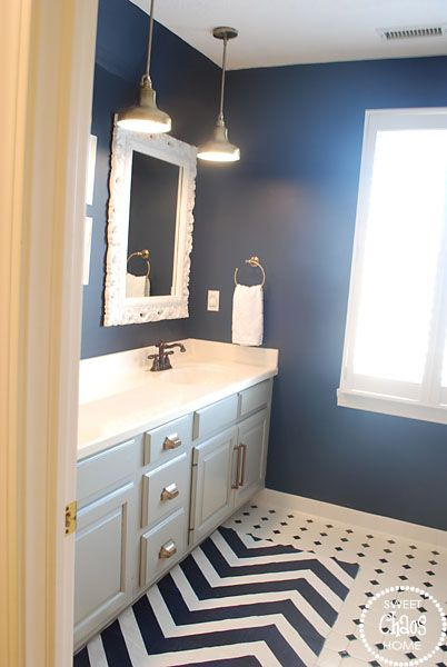 Sweet Chaos Guest Bathroom Mini Nautical Pendant Lights Form Home Depot For The Kids Bathroom