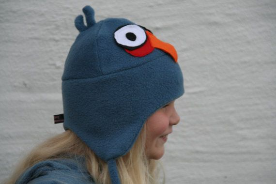 PDF sewing pattern  Fleece hat pattern  Vaappi's Really by Vaappi, $7.00