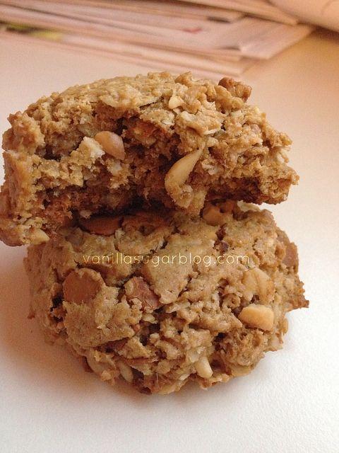 by Vanilla Sugar Blog, via Flickr. Flourless peanut butter cookies