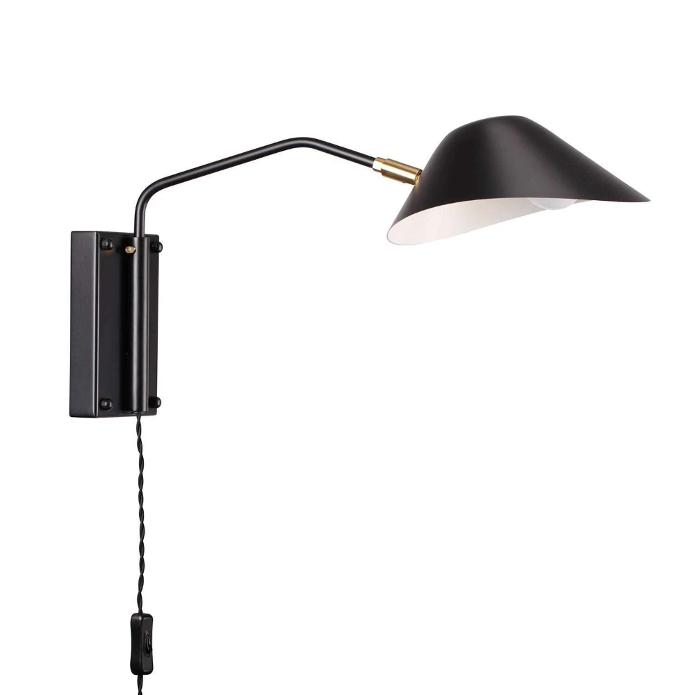 Mid Century Chapeau Rotating Wall Sconce in 2020 | Wall ...