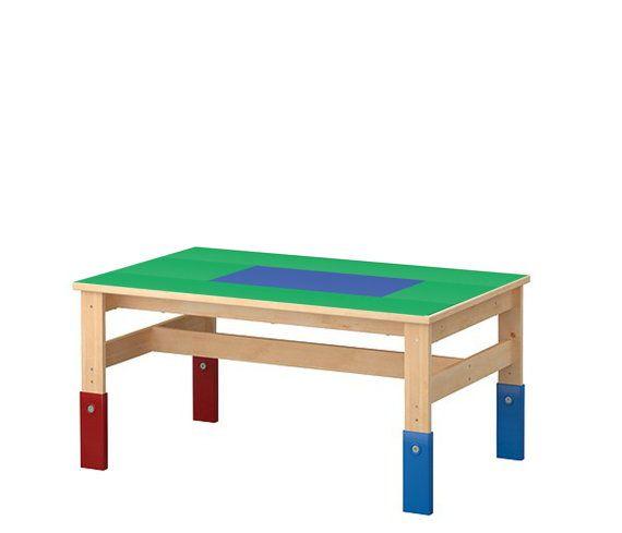 Large Lego Table 24 x 40 Green u0026 Blue Lego by VineStreetMaker $218.00  sc 1 st  Pinterest & Large Lego Table 24 x 40 Green u0026 Blue Lego by VineStreetMaker ...