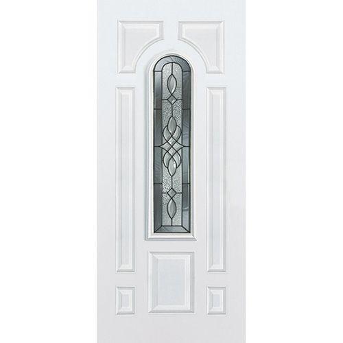Lowe S Reliabilt 36 X 80 Center Arch Lite Inswing Steel Door