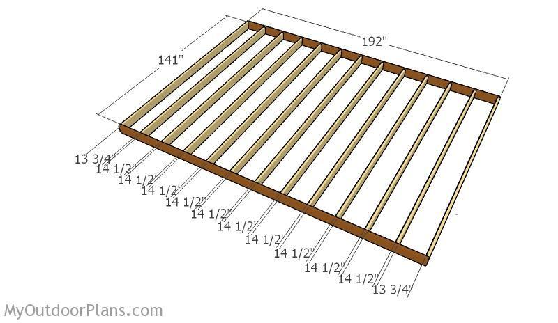 12x16 Barn Shed Plans MyOutdoorPlans Free Woodworking