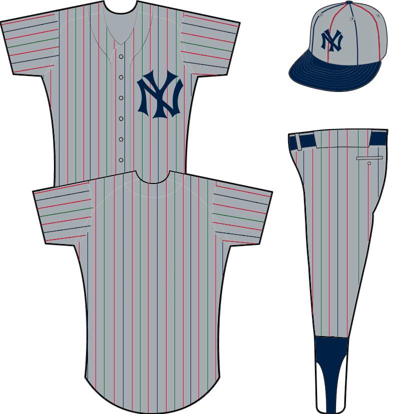 New York Yankees Road Uniform New York Yankees Yankees Uniform