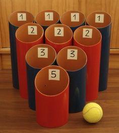 Idea de juegos para hacer con los ni os juegos de ni os for Home party tube