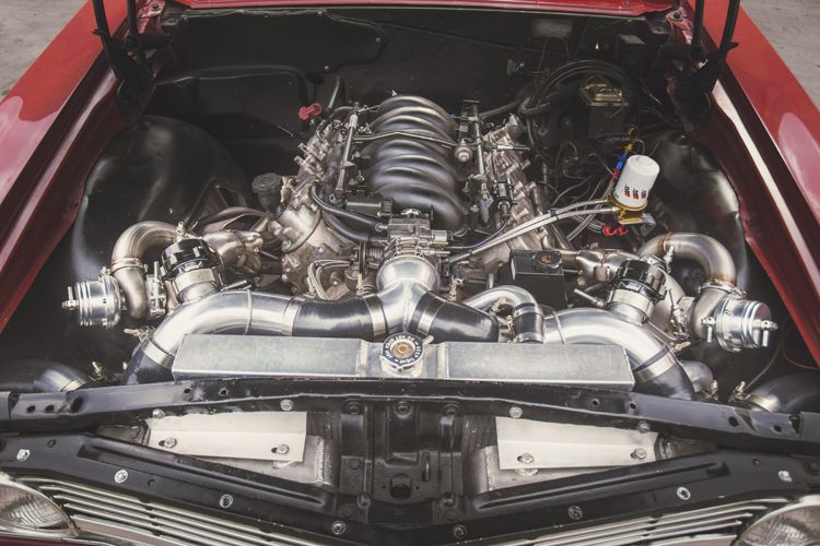 1963 1965 Chevrolet Chevelle With Ls1 Lsx Motor Swap Twin Turbo