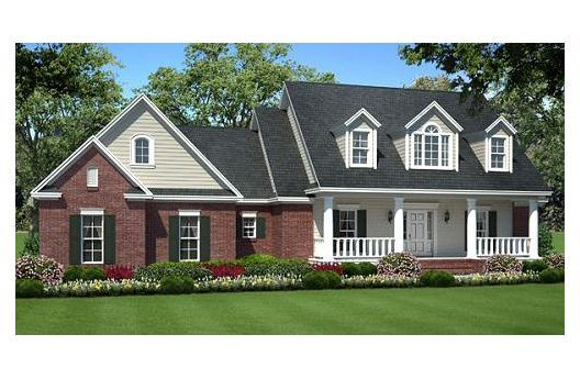 Country Style House Plan 3 Beds 2 Baths 1635 Sq Ft Plan 21 276 Country Style House Plans Country House Plans House Plan Gallery