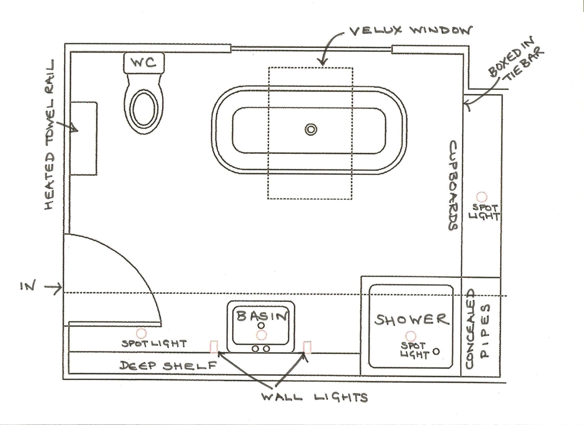 6 x 12 bathroom floor plans | bathroom design 2017-2018 ...