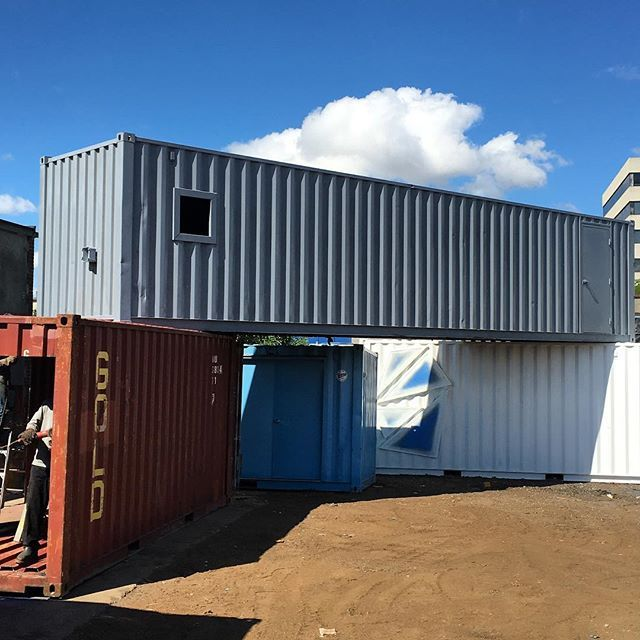 Custom Shipping Container Car Garage: Container Home Desing
