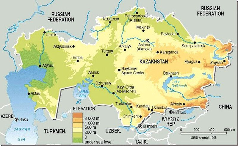 Kazakhstan Map - Travelust Pinterest Asia and Destinations - copy world map with ocean trenches