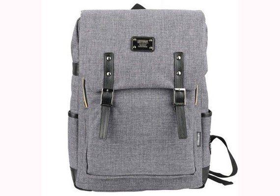afb5e15c826 Mens Casual Backpack College School Bag Laptop Rucksack Book Bag 088 ...