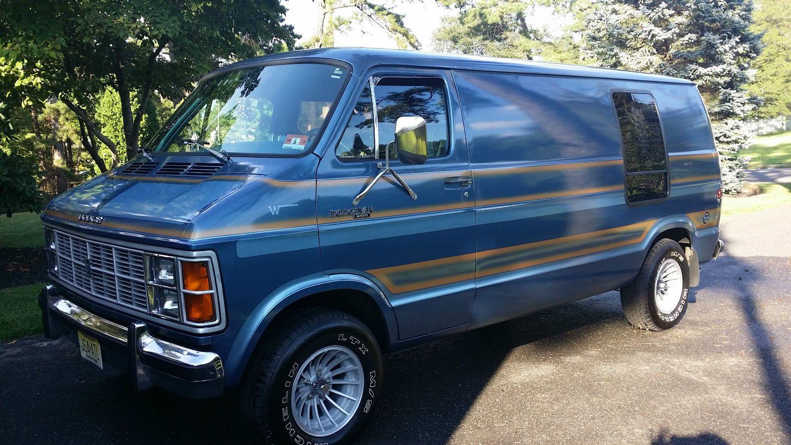 Dodge Ram Van B200 Custom Vans Van Ram Van