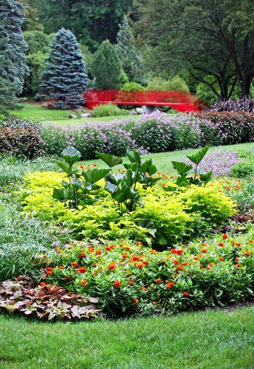 Color Garden Area, Dow Gardens, Midland, MI | Room to Bloom ...