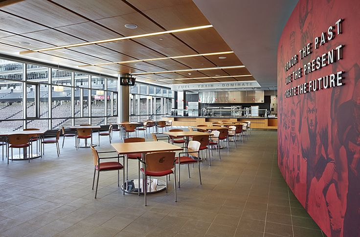 the new home of cougar football at washington state university designed by alsc architects wsu - Wsu Interior Design