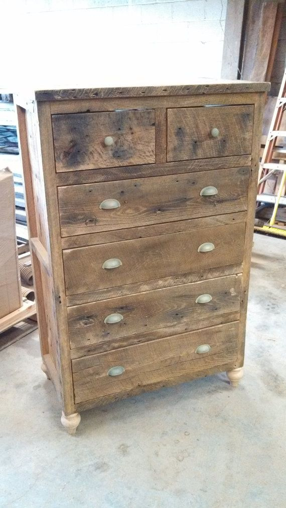 Custom Tall Rustic Barn Wood Dresser Rustic Dresser Diy Rustic Decor Home Decor Catalogs