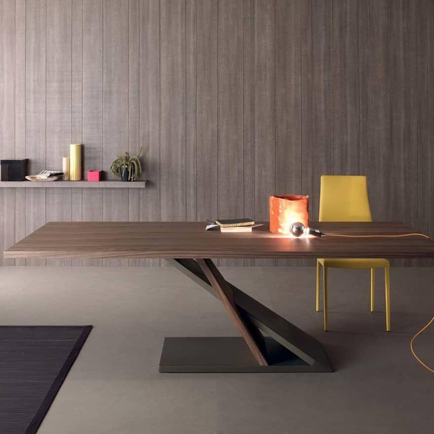 Tavoli da pranzo dal design moderno, allungabili e fissi ...