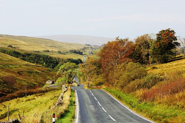 A684 Hawes to Sedbergh by BobSki50, via Flickr