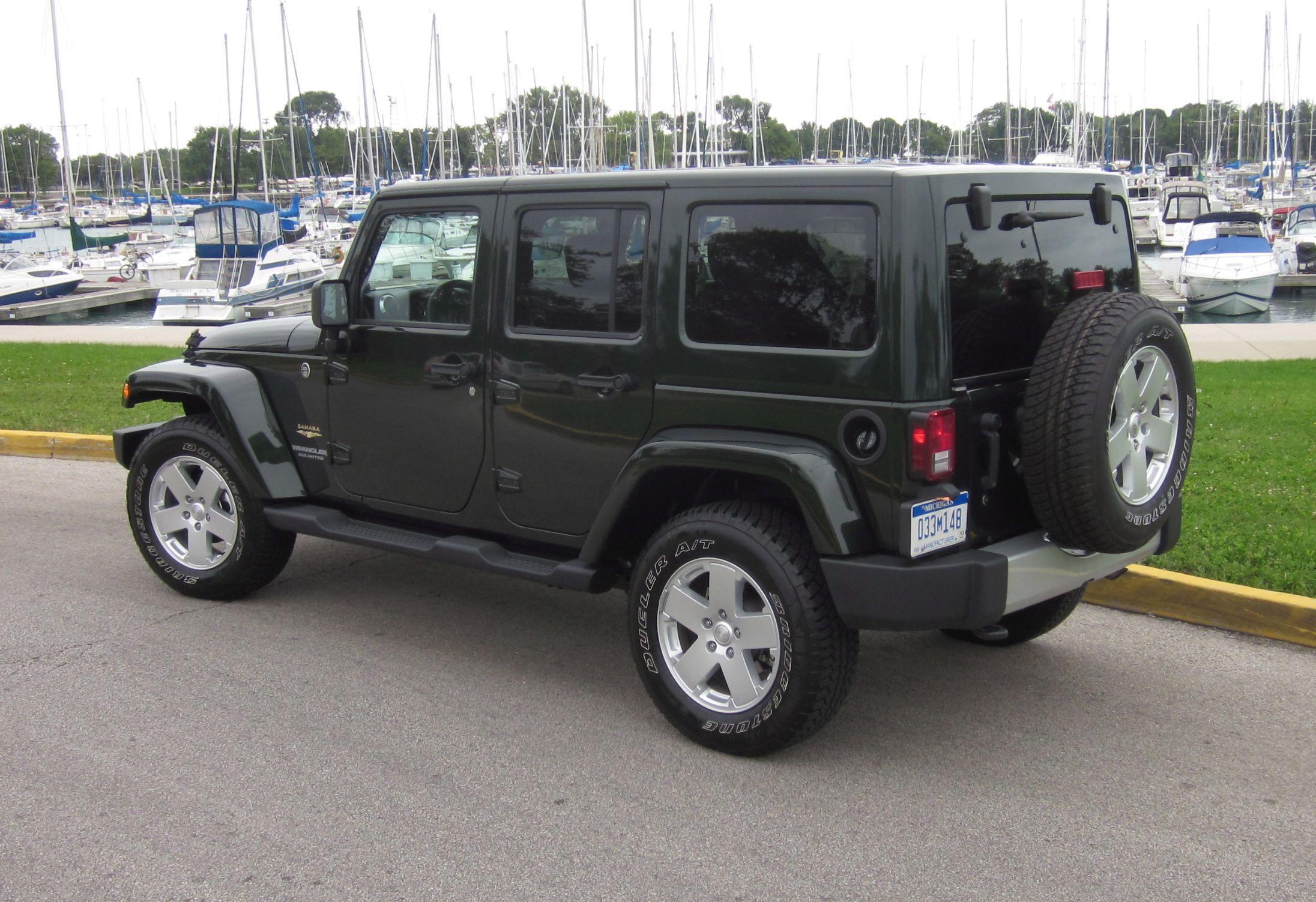 2012 4 door jeep