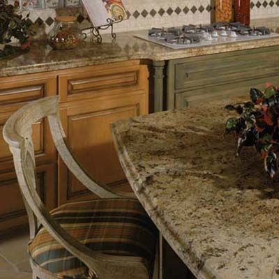 Perfect Desert Amarillo Granite Countertop