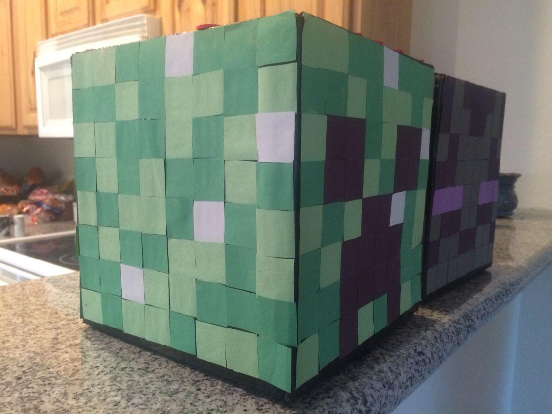 Minecraft Steve Valentine Box | Craft Kids | Pinterest | Box, Crafts And  Class Party Ideas