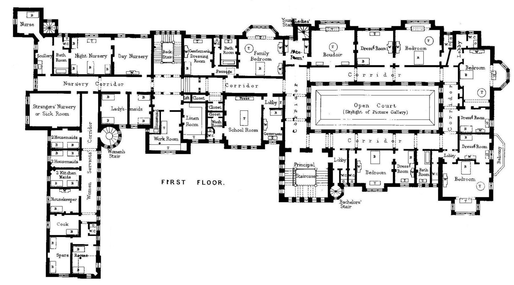 gilded age mansions floor plans www galleryhip com the floorplans for gilded age mansions skyscraperpage forum