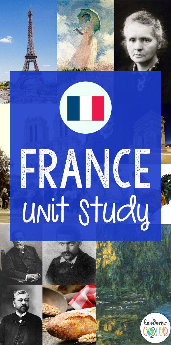 Photo of France Unit Study for Kids–Free Homeschool Unit Study