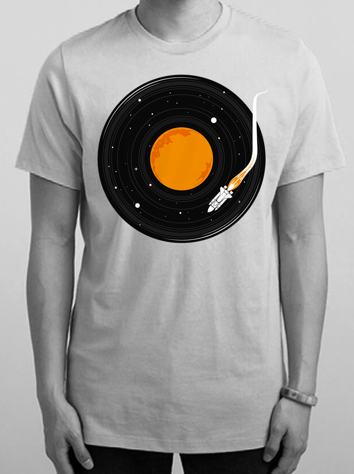 Outer Space T Shirt Illustration Camp Shirt Designs T Shirt Painting Shirt Design Inspiration