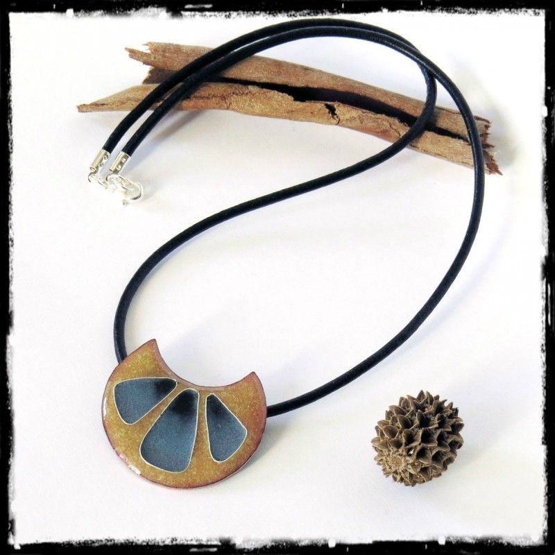 collier femme emaux