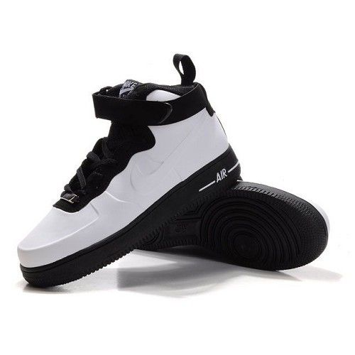 meet 795af 8caab Nike Air Force One High Men Patent Leather Men White Shoes 1005 78