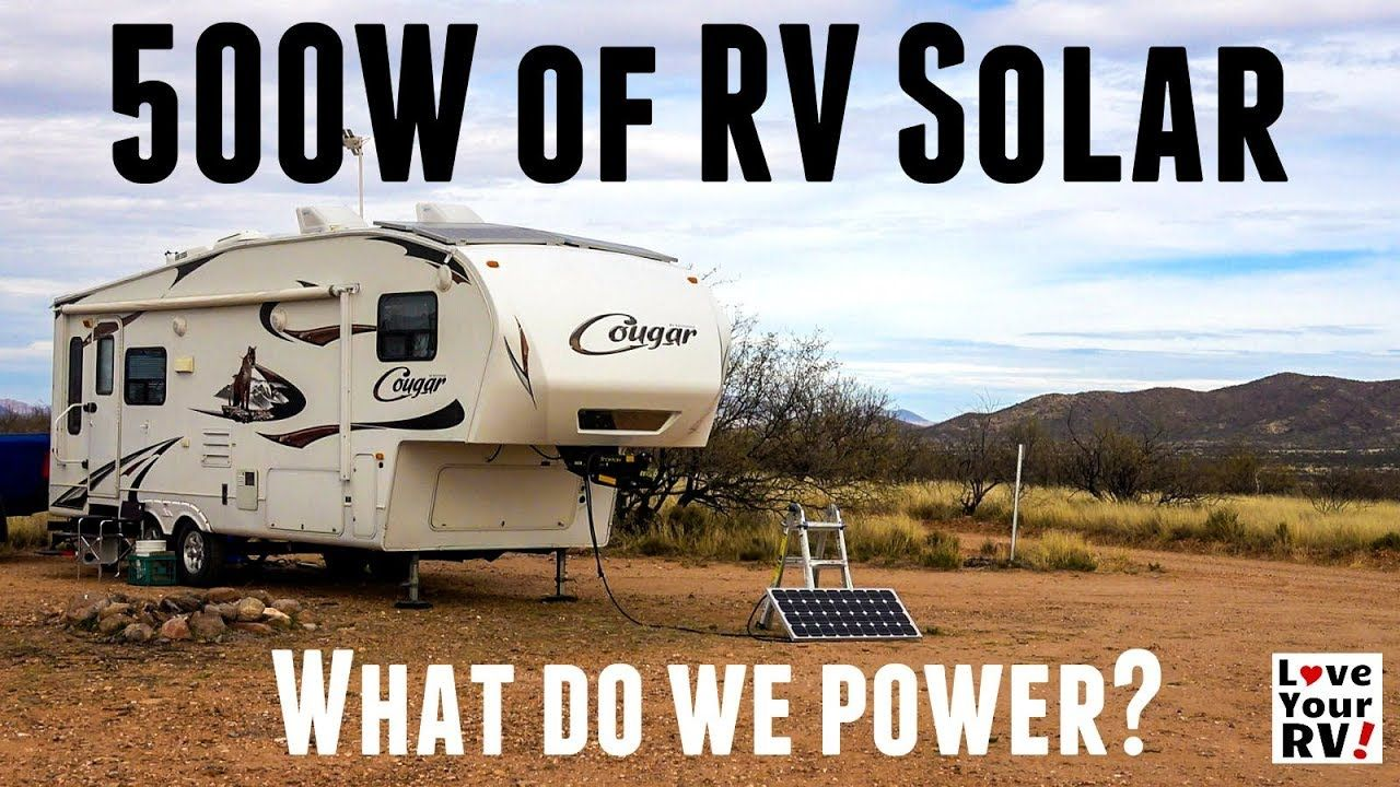 Detailed Look At Our Diy Rv Boondocking Power System
