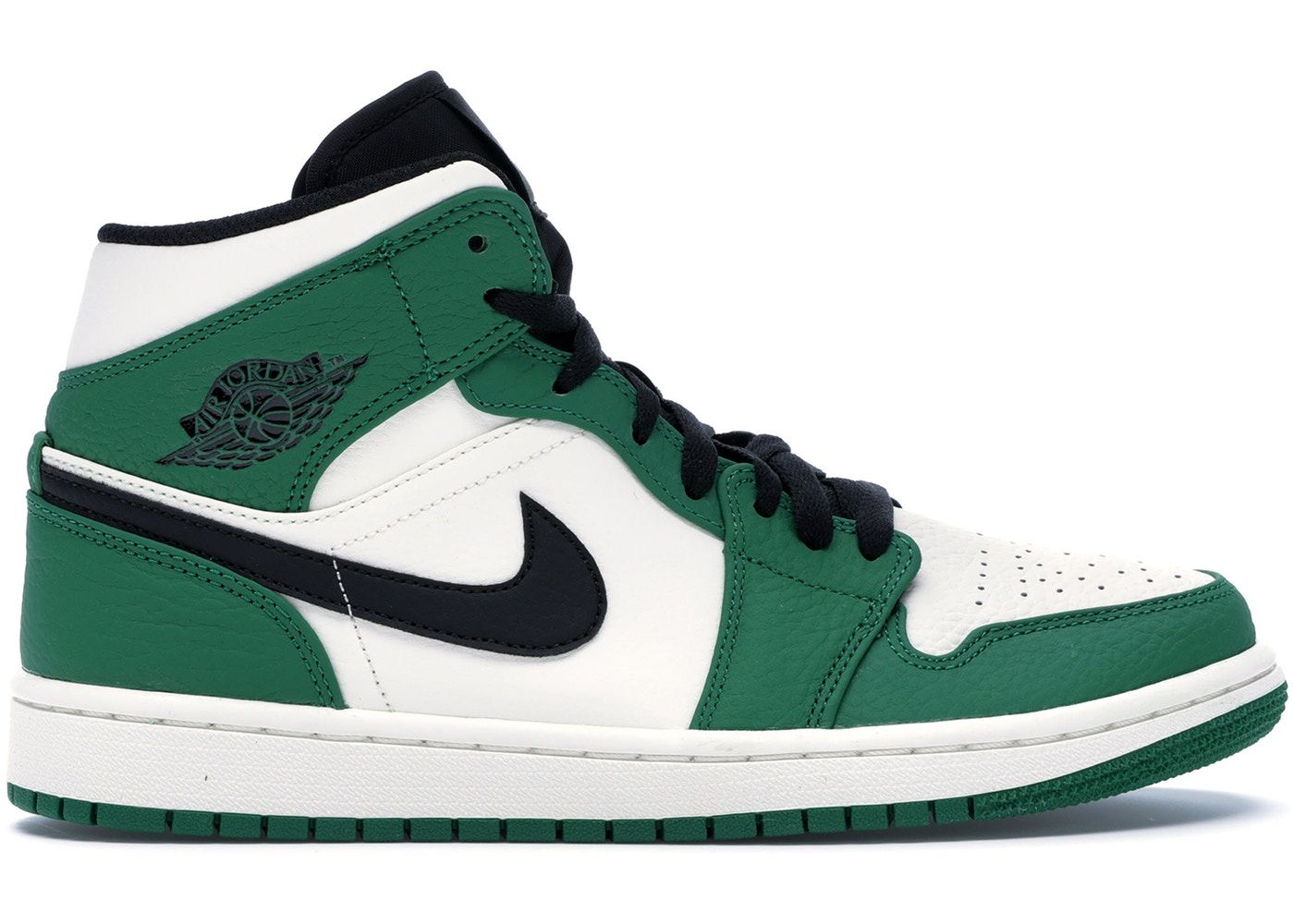 Jordan 1 Mid Pine Green in 2020 | Air jordans, Jordan 1 mid