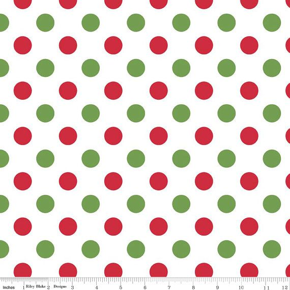 Quilting Basics BTY Unbranded Small Lime Green Polka Dots on White