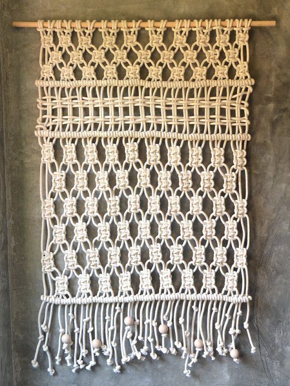Macrame wall hanging / Tapestry / Wall Art / Modern Macrame Arte - tapices modernos