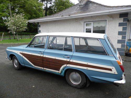 For Sale Ford Consul Cortina Estate Super Woody