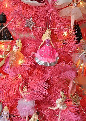 Pink Barbie Christmas tree ♥