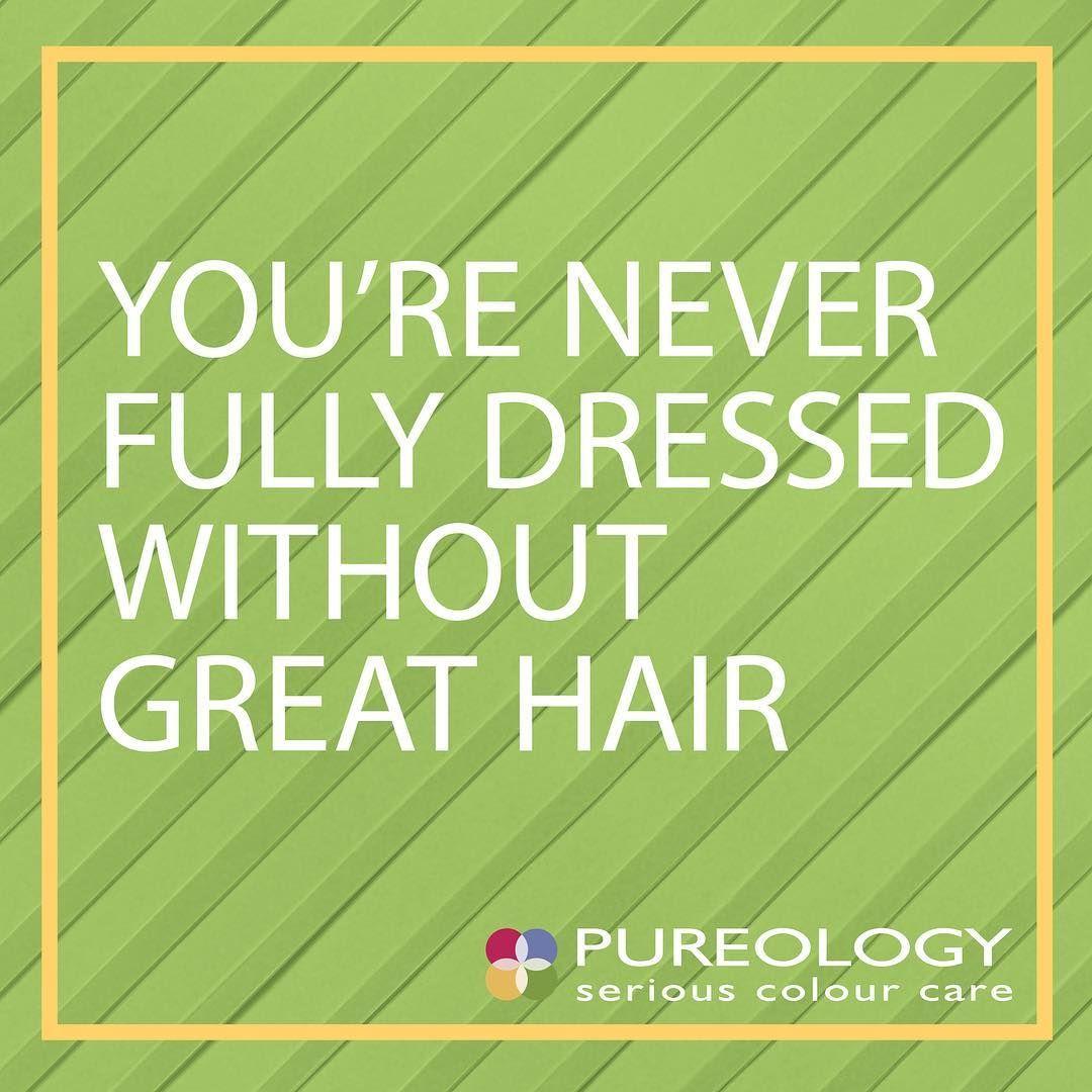 great hair, check! Pureology, Great hair, Diy body spray